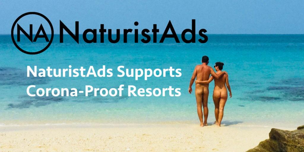 NaturistAds Supports Corona-Proof Resorts