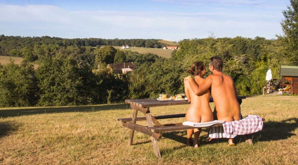 Naturist camping in the French Dordogne Region