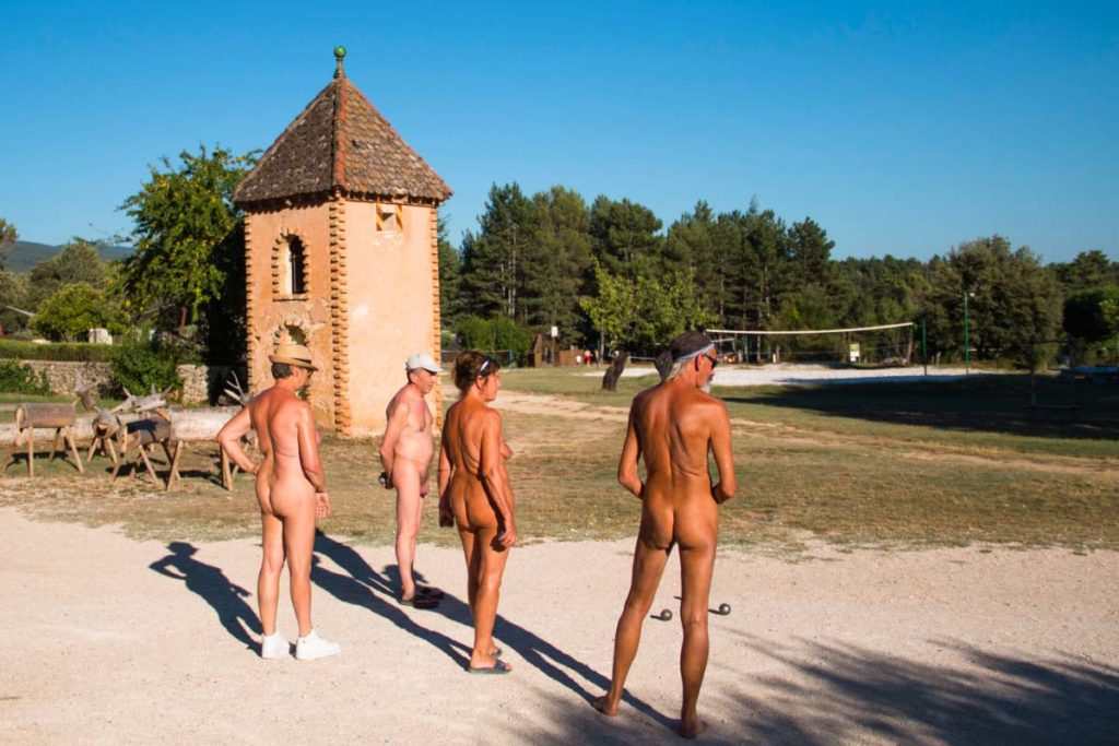 The Game of Naturists: Petanque
