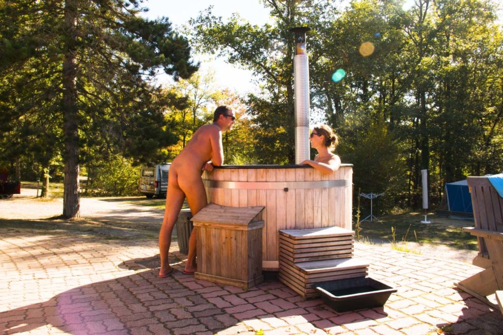 Naturist camping in the French Limousin Region