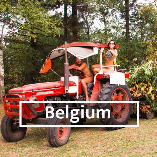 Nudist & Naturist destinations in Belgium