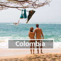 Nudist & Naturist destinations in Colombia