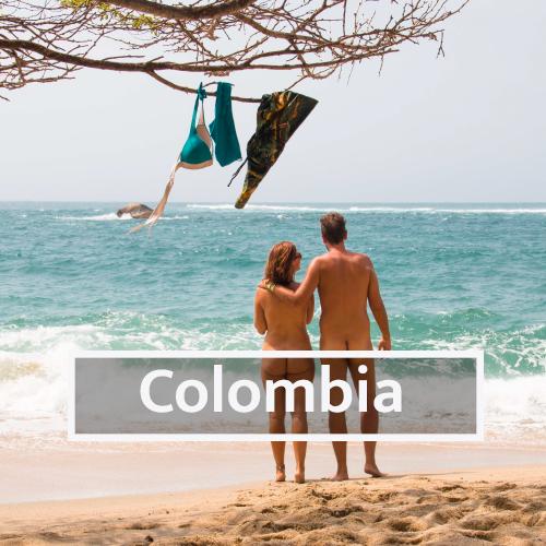 Nudist & Naturist destinations in Colombia