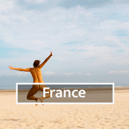 Nudist & Naturist destinations in France