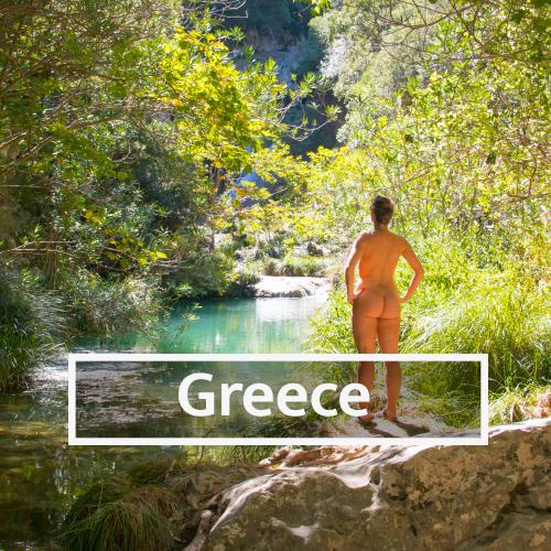 Nudist & Naturist destinations in Greece