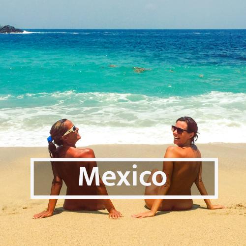 Nudist & Naturist destinations in Mexico