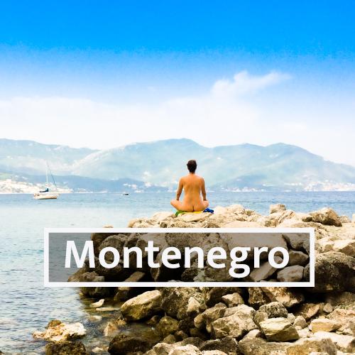 Nudist & Naturist destinations in Montenegro