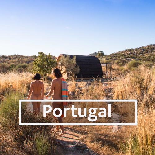 Nudist & Naturist destinations in Portugal