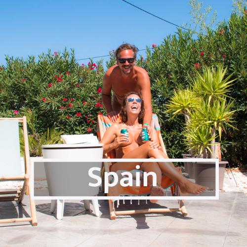 Nudist & Naturist destinations in Spain