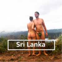 Nudist & Naturist destinations in Sri Lanka