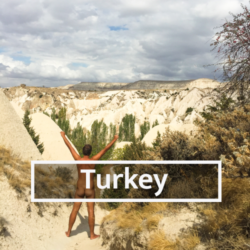 Nudist & Naturist destinations in Turkey