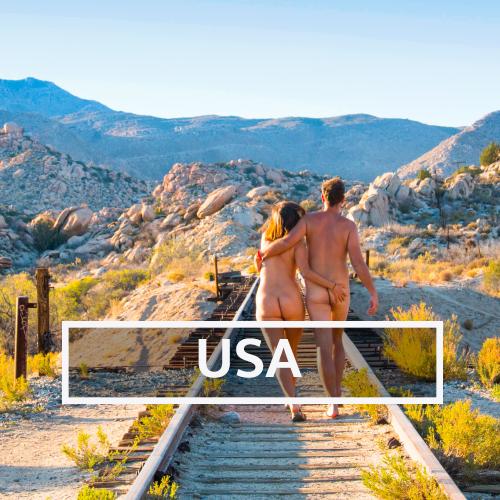 Nudist & Naturist destinations in USA