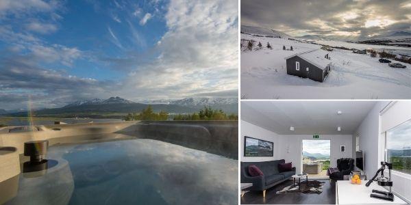 Peaceful cosy cabin in Akureyri