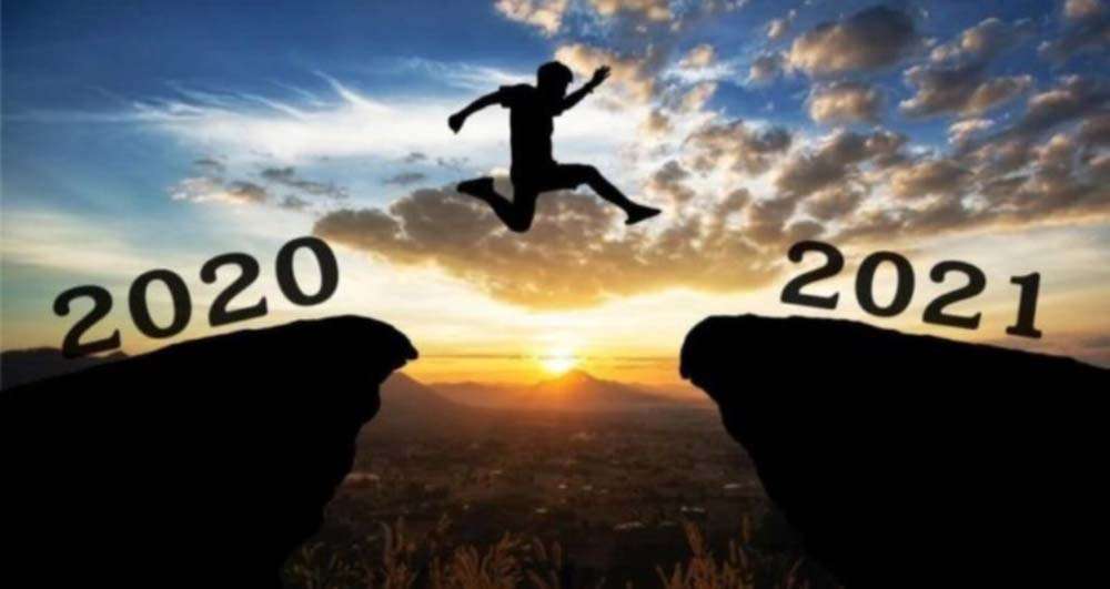 Goodbye to the Lost Year, welcome 2021!