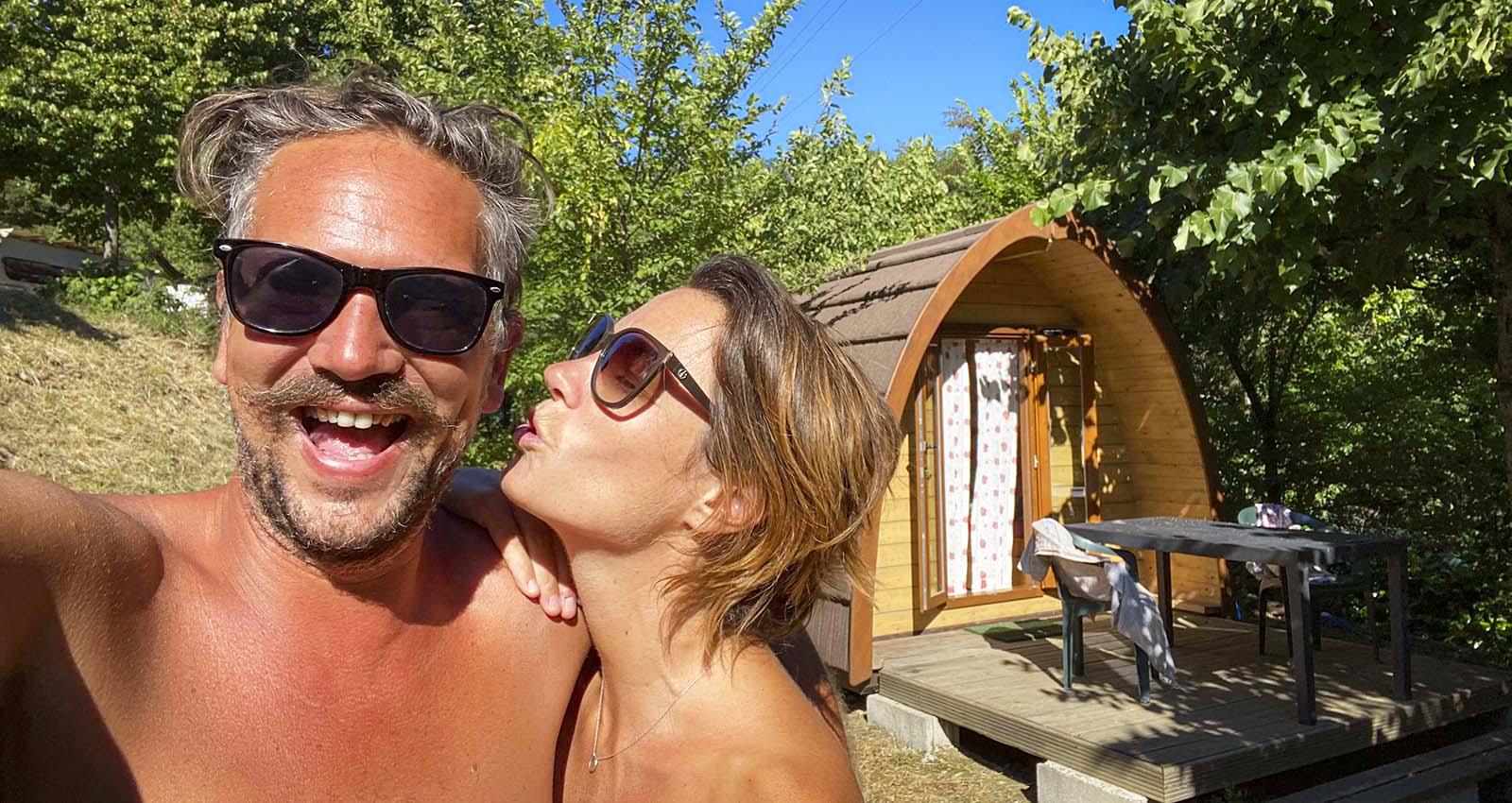 Our Naturist Road Trip in Italy in 2021