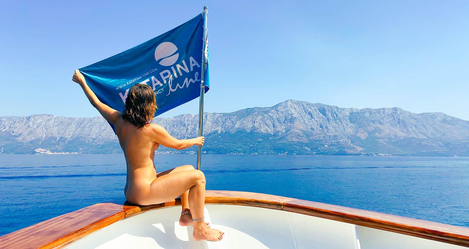 The Katarina Lines Naturist Cruise in Croatia